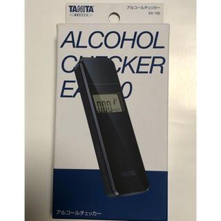 タニタ(TANITA)のタニタアルコールチェッカー EA-100-NV ネイビー(アルコールグッズ)