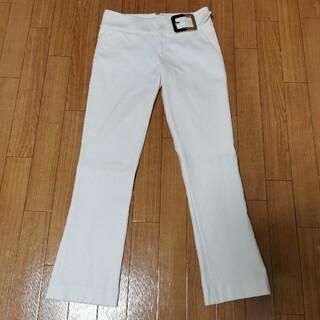 グッチ(Gucci)のGUCCI 白 ホワイト 美脚パンツ Sサイズ(カジュアルパンツ)