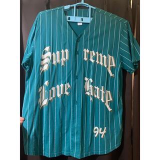 シュプリーム(Supreme)のSupreme Love Hate Baseball Jersey L (ジャージ)