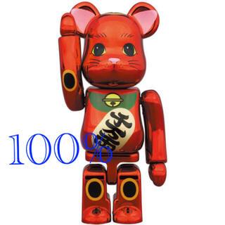 BE@RBRICK 招き猫 梅金メッキ 100% メディコム・トイ 東京ソラマチ(その他)