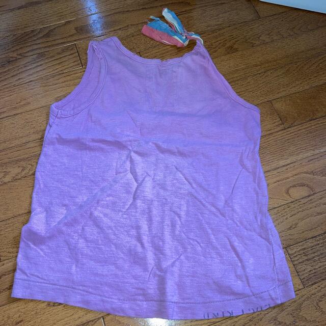 GO TO HOLLYWOOD(ゴートゥーハリウッド)のGOTOタンクトップ130 キッズ/ベビー/マタニティのキッズ服女の子用(90cm~)(Tシャツ/カットソー)の商品写真