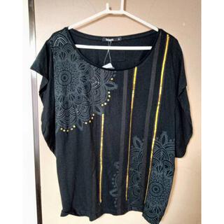 デシグアル(DESIGUAL)のDesigual✩.*˚スパンコールトップス✩.*˚新品タグ付き(Tシャツ(半袖/袖なし))