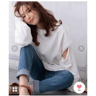 ウィゴー(WEGO)のDONOBAN 3Wayスリーブスリットtee(Tシャツ(長袖/七分))