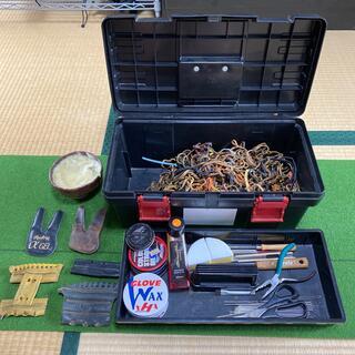 ハタケヤマ(HATAKEYAMA)の野球グローブ、グラブ補修キット バラ売り可能(グローブ)
