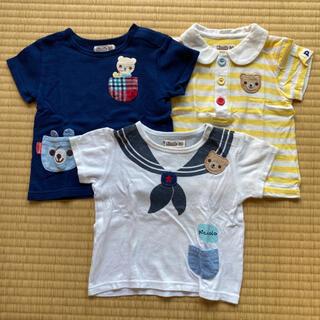 キムラタン(キムラタン)のPiccolo Tシャツ 3枚セット(Tシャツ)