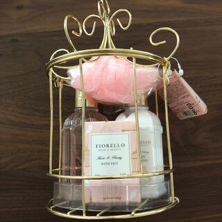 フランフラン(Francfranc)のFIORELLO ボディケアセット ローズ&ピオニーの香り(1セット入)(その他)