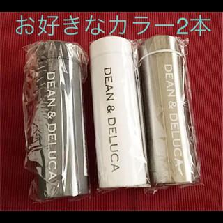 ディーンアンドデルーカ(DEAN & DELUCA)のディーンアンドデルーカ ステンレスボトル グレー 白 シルバー から選べる2本(水筒)