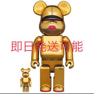 メディコムトイ(MEDICOM TOY)のBE@RBRICK SORAYAMA × 2G GOLD 100% & 400%(その他)
