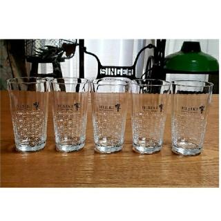 サントリー(サントリー)のサントリー ウィスキー 響 うすづくり タンブラー グラス 5個 セット 新品(グラス/カップ)