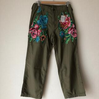GO TO HOLLYWOOD - 新品未使用ゴートゥーハリウッドバックバックサテン刺繍パンツ02