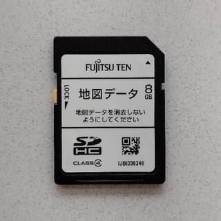 フジツウ(富士通)のFUJITSU TEN メモリー ナビ 地図データ SD カード(カーナビ/カーテレビ)