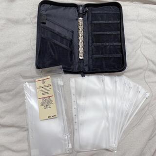 ムジルシリョウヒン(MUJI (無印良品))の【MK様専用】【無印良品】パスポートケース(6枚) + 未使用リフィル(3枚)(ファイル/バインダー)