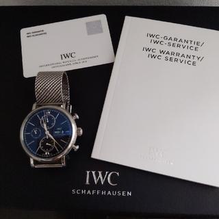インターナショナルウォッチカンパニー(IWC)の専用Iwc Portofino Chronograph(腕時計(アナログ))