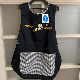 ディズニー(Disney)の新品 Disney ミッキーマウスエプロン エプロン(その他)