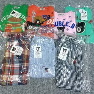 ダブルビー ミキハウス 半袖Tシャツ 半パン 80センチ(Tシャツ)