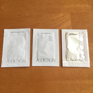 アディクション(ADDICTION)のアディクション サンプル3点セット 試供品(サンプル/トライアルキット)