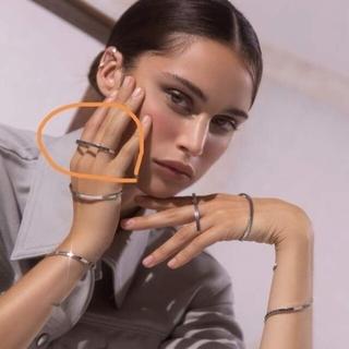 マルタンマルジェラ(Maison Martin Margiela)の新品 MAM originals S シルバーリング trans (リング(指輪))
