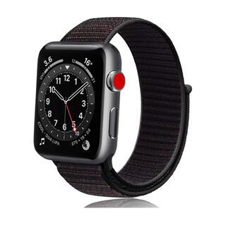 Apple Watch バンド ナイロンアップルウォッチ バンド42/44mm(ラバーベルト)