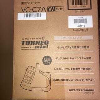 トウシバ(東芝)のTOSHIBA VC-C7A(W)(掃除機)