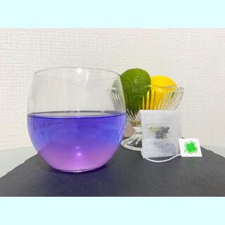 バタフライピーティーパック 使いやすい 紐なしティーパック5つ(茶)