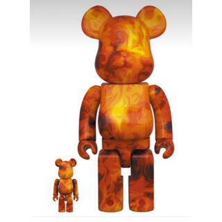 BE@RBRICK SSUR FIRE 100% & 400%(その他)