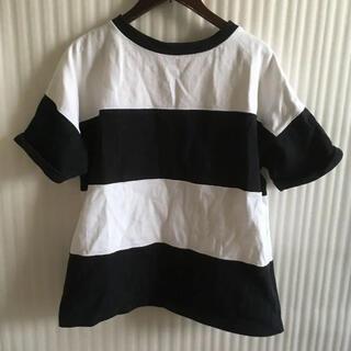イーストボーイ(EASTBOY)のボーダーTシャツ(Tシャツ(半袖/袖なし))