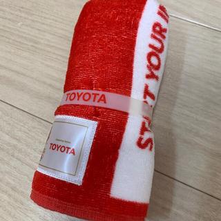 トヨタ(トヨタ)のトヨタ オリンピック タオル 3本あります(タオル/バス用品)