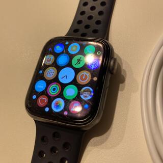 アップル(Apple)のApple Watch 4 Cellularモデル 44mm 美品 バンド付(その他)