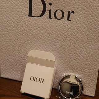クリスチャンディオール(Christian Dior)のDior スマホリング ノベルティ(その他)