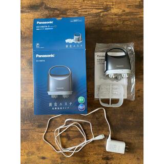 パナソニック(Panasonic)のパナソニック 頭皮エステ 皮脂洗浄タイプ シルバー EH-HM7A-S(マッサージ機)