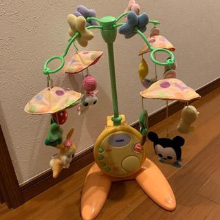 タカラトミー(Takara Tomy)のベッドメリー / ディズニー disney / タカラトミー ベビーミッキー(オルゴールメリー/モービル)