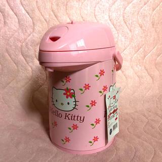 ハローキティ(ハローキティ)の【希少】Hello Kitty  エアーポット ガラス製卓上魔法瓶   (その他)