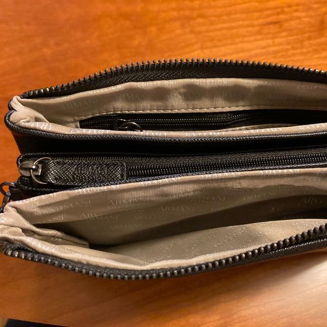 ARMANI COLLEZIONI(アルマーニ コレツィオーニ)のアルマーニ コレツィオーニ バッグ メンズのバッグ(セカンドバッグ/クラッチバッグ)の商品写真