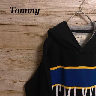 EATME - 《マルチカラー》Tommy トミー パーカー プルオーバー フーディ 長袖 L