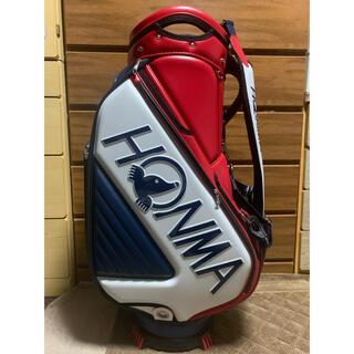 ホンマゴルフ(本間ゴルフ)のHONMA ホンマ 本間 トーナメントプロモデルキャディバッグ(フード付き)(バッグ)