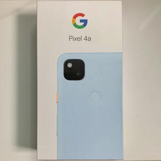 グーグル(Google)のGoogle Pixel 4a 128GB Barely Blue(スマートフォン本体)