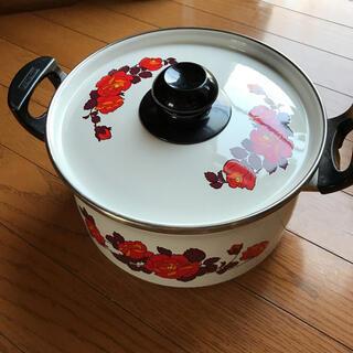 象印 - 昭和レトロホーロー鍋