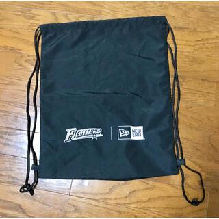 北海道日本ハムファイターズ - 未使用品 北海道日本ハムファイターズ・NEWERAコラボ品巾着型リュック
