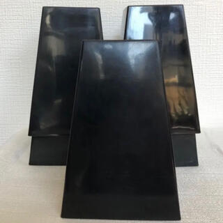 プラ鉢・スクエア鉢5号・黒・5個セット(プランター)