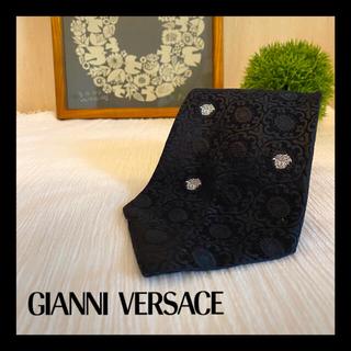 ジャンニヴェルサーチ(Gianni Versace)の美品☆ Gianni Versace ヴェルサーチ ネクタイ シルク メデューサ(ネクタイ)
