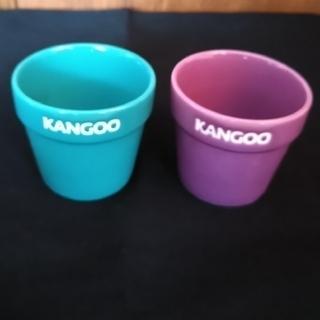 ルノー(RENAULT)のカングー ミニ植木鉢 2個セット ルノー(ノベルティグッズ)