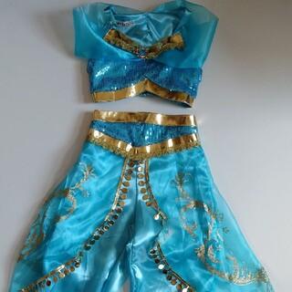 ディズニー(Disney)のジャスミン プリンセス 衣装2点セット サイズ120(その他)