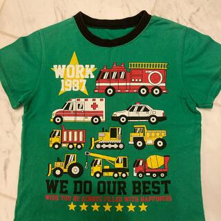タカラトミー(Takara Tomy)の消防車パトカー救急車 はたらく車 Tシャツ 男の子120(Tシャツ/カットソー)