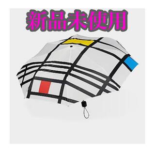 モマ(MOMA)のMoMA Piet Mondrian モマ モンドリアン 折り畳み傘 (傘)