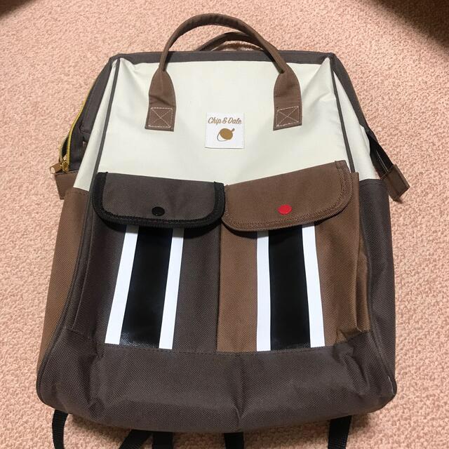 チップ&デール(チップアンドデール)のチップとデールモチーフ リュック レディースのバッグ(リュック/バックパック)の商品写真