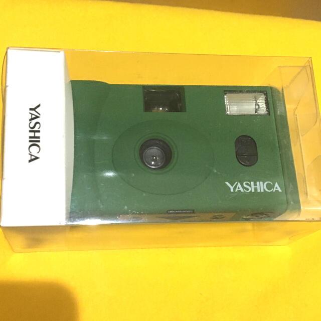 京セラ(キョウセラ)のYASHICA フィルムカメラ MF-1 アーミーグリーン 新品未使用未開封 スマホ/家電/カメラのカメラ(フィルムカメラ)の商品写真