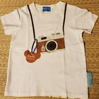 ダッフィー(ダッフィー)の【美品】東京ディズニーシー SPRING VOYAGEイベントTシャツ110cm(Tシャツ/カットソー)