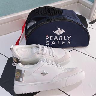 パーリーゲイツ(PEARLY GATES)の【新品】韓国公式パーリーゲイツ 日本未入荷 ゴルフ レディース ゴルフシューズ(シューズ)
