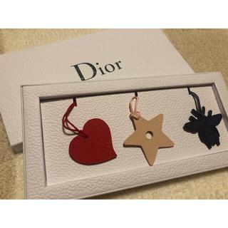 ディオール(Dior)の【DIOR】オーナメント キーホルダー 小物(キーホルダー)