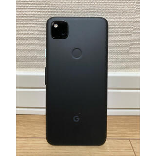 グーグル(Google)の【特価!】ピクセル4a 128G justblack(SIMフリー)(スマートフォン本体)